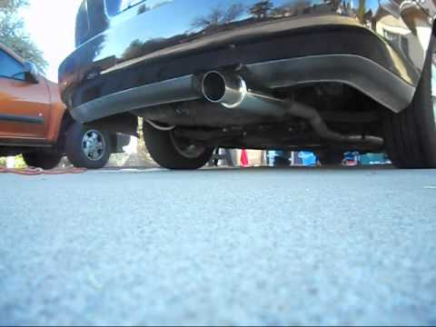 1997 honda accord 2 25 pipe with a