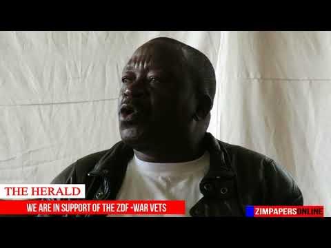 Zimbabwe National Liberation War Vetrans Association throws weight behind ZDF, 15 Nov 2017