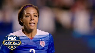 Sydney Leroux inspires young fan