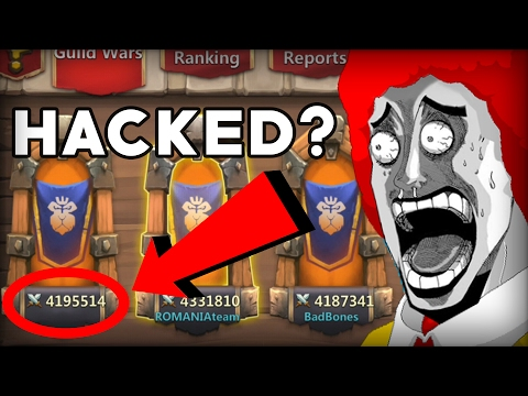 Castle Clash No Name Guild In Gw ? Castle Clash Got Hacked ?