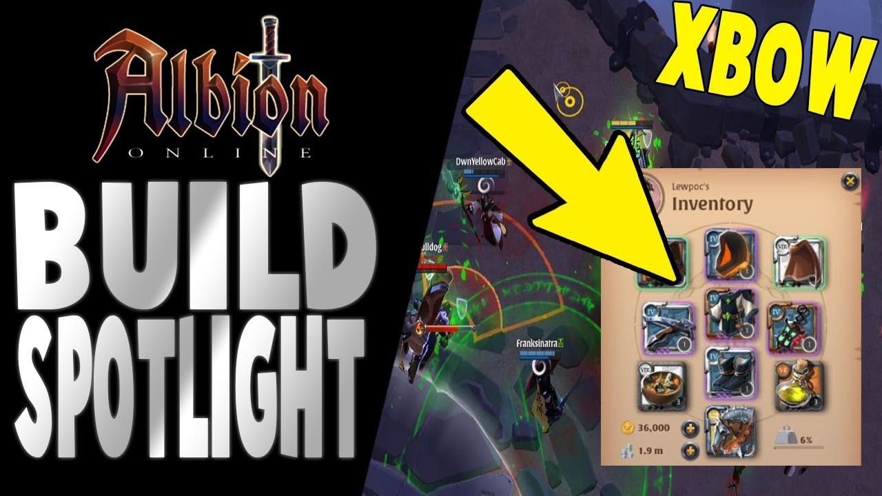Albion Online | Build Spotlight | Explosive Xbow