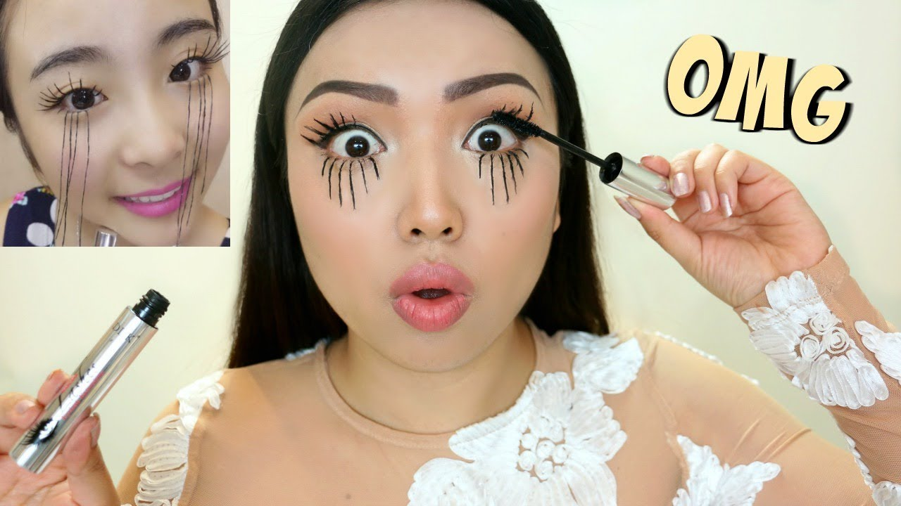 adad410f743 EXTREME LASHES Viral Asian Mascara Tested !!! - YouTube
