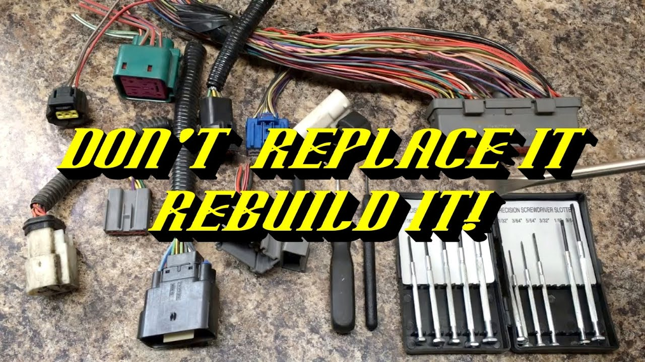 ford quick tips 62 rebuilding electrical connectors on your ford wiring connector pins [ 1280 x 720 Pixel ]
