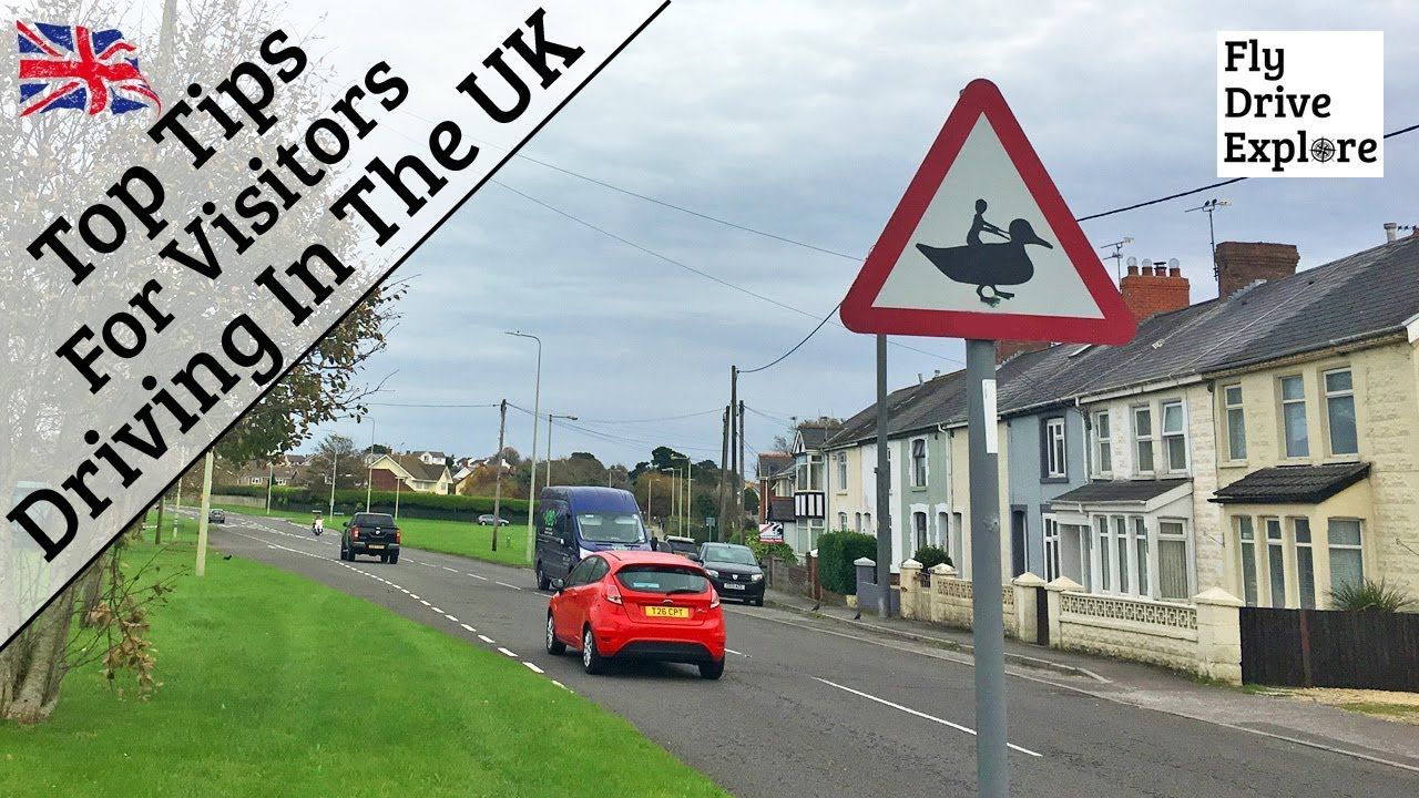 """""""How Fast?' Top Tips For Visitors Driving In The UK"""