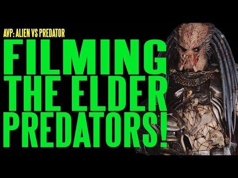 AVP Filming The Elder Predators ADI BTS