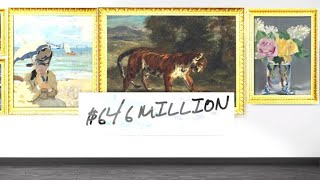 Rockefeller art collection breaks auction records