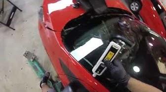 chevy spark 2017 instalando parabrisas (windshield replacement)