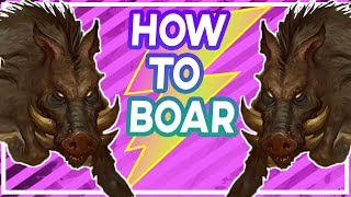 Hearthstone: How To Boar Your Opponent