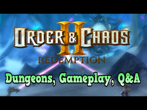 Order & Chaos 2: Redemption- Online GAMEPLAY, Dungeons, Quests!
