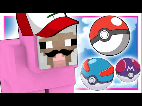PINK SHEEP IS A POKÉMON MASTER?! | Minecraft