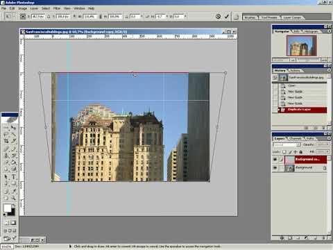 Видео уроки Фотошоп Adobe Photoshop Игорь Ульман Urok 10 Исправление перспективы