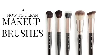 The Easiest & Quickest Way To Clean Makeup Brushes | Chloe Boucher