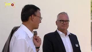 GdW-Präsident Axel Gedaschko zu Besuch