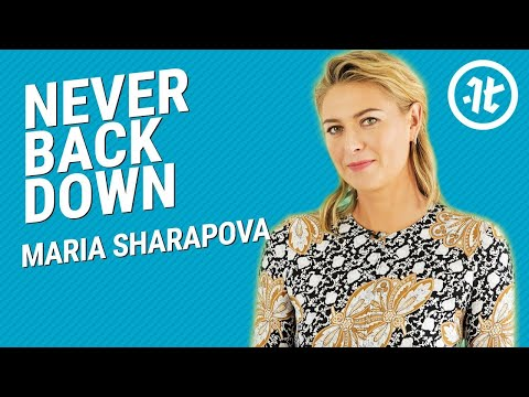 Maria Sharapova on the Keys to Building Grit and Discipline