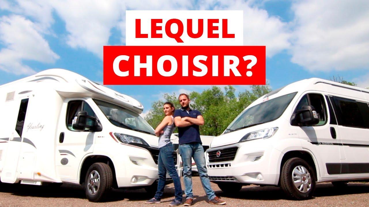 acheter un camping car profil ou un fourgon van am nag cc tuto turbo 2 youtube