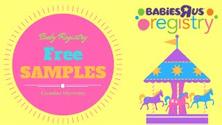 FREE SAMPLES from Babies r us Registry | BABY FREEBIES Part 1| Angie Lowis