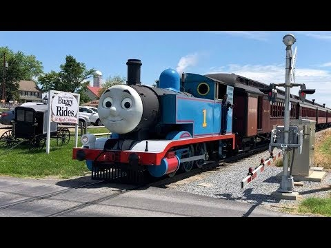 Thomas The Tank Engine, Percy, Thomas In Real Life!
