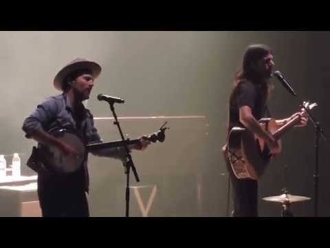 """The Avett Brothers """"Down with the Shine"""" live in Columbia SC 4/7/18"""