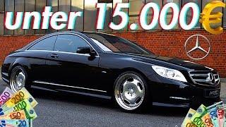 Die besten Autos für unter 15000€ | RB Engineering | Mercedes Benz C216 CL 500