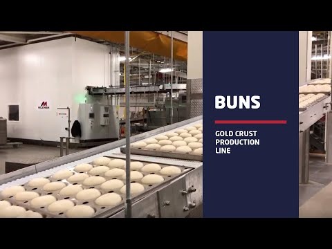 GOLD CRUST - Buns Production Line In USA