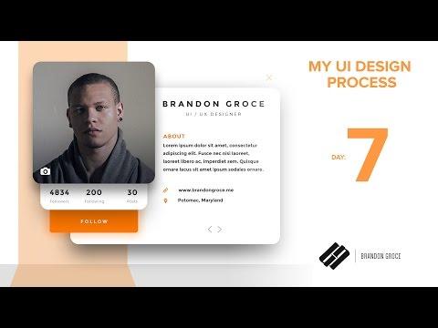 UI Design Process - Day 7