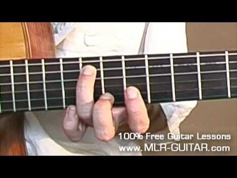 Shape Of My Heart Guitar Lesson - part 1 of 5