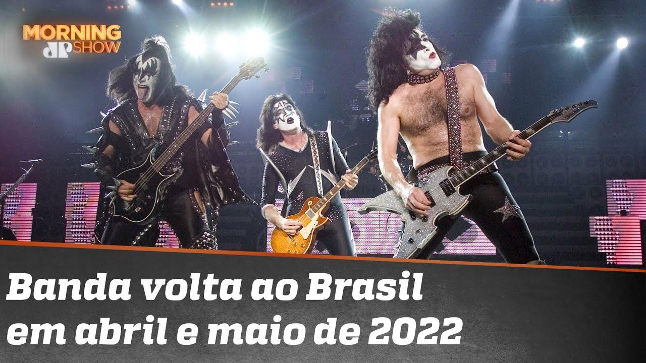 Show do Kiss no Brasil é remarcado