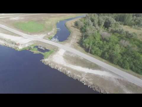 A tour around Lake Okeechobee with Cody and the drone