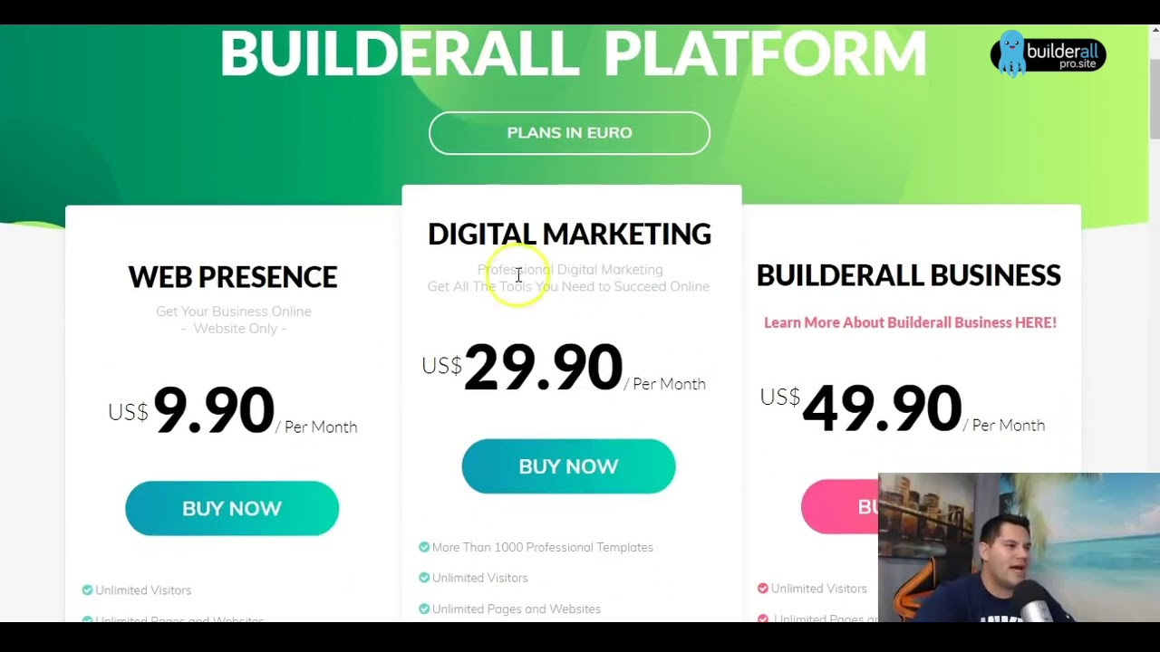 Builderall vs ClickFunnels and What's best for Network Marketing