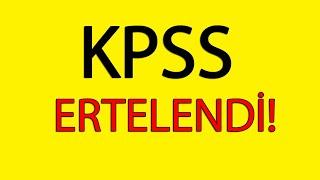 KPSS 2020 Ertelendi!   #kpss #lisans  #önlisans  #ortaöğretim