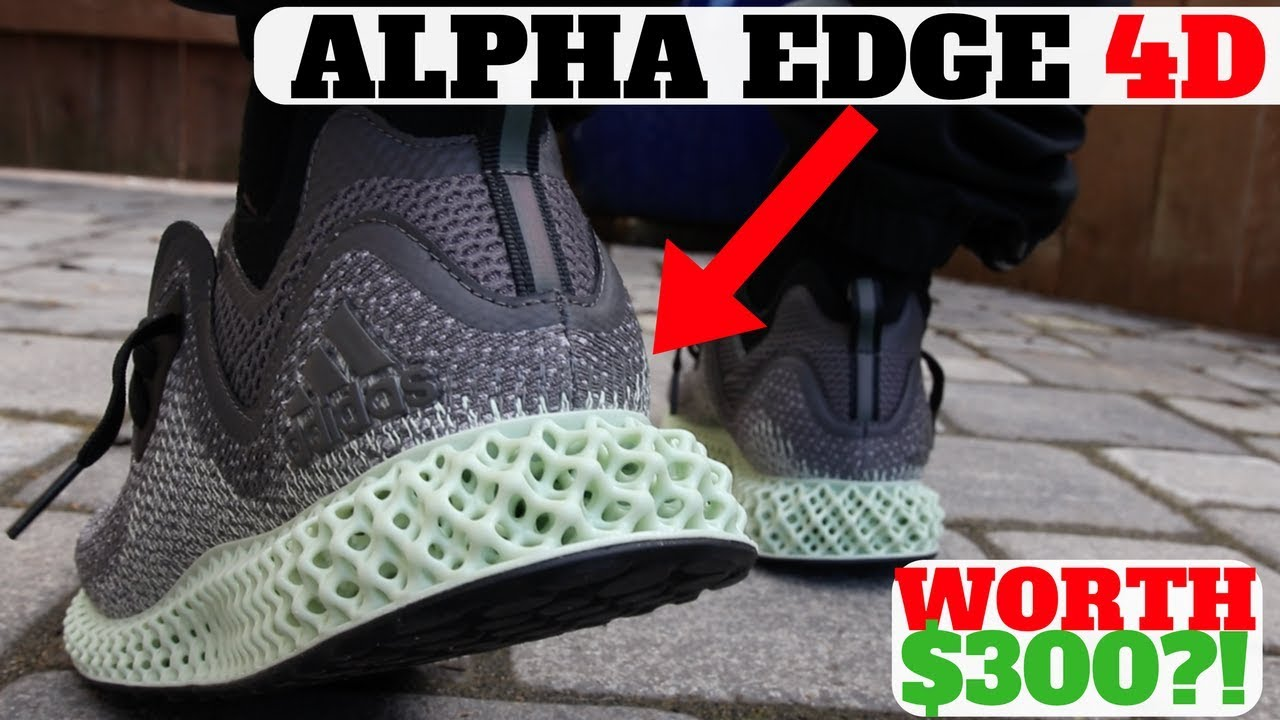 competitive price 3909c 7cf9c ALPHAEDGE 4D FUTURECRAFT First Look Impressions  On Feet