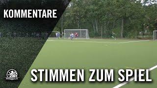 Die Stimme zum Spiel (SC Gatow - SP. Vg. Blau-Weiss 90 Berlin, 2. Runde, Berliner Pokal 16/17)