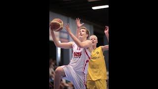 Highlights - Tobias Brinchmann #12  - 16 years old - Denmark - Sisu - Basketball