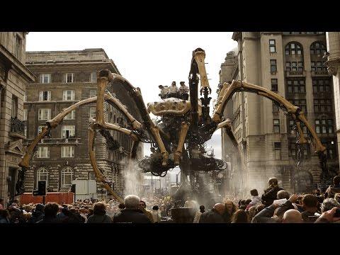 الآلات الميكانيكية 10 الأضخم على وجه الأرض !