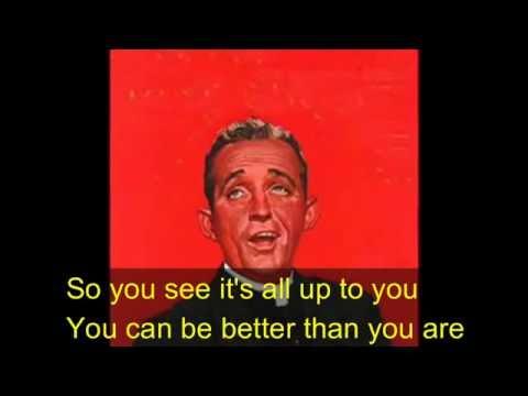 Swinging on a Star  Bing Crosby (lyric subtitles)