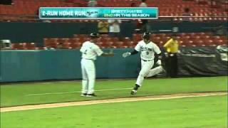 Hayes' two-run homer
