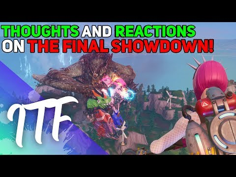 The Final Showdown Event Reaction + Thoughts! (Fortnite Battle Royale)