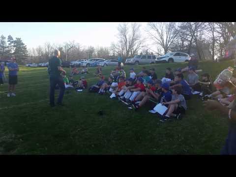Carnal Cowboys speaks to Ladue Middle School camp!