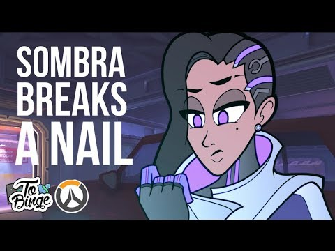 Sombra Breaks a Nail: An Overwatch Cartoon