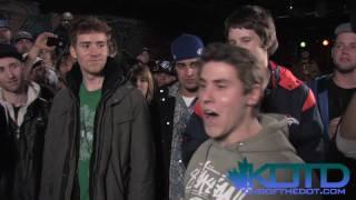 KOTD - Rap Battle - Tricky P / FeelGood vs Q / JWalker (GP Qualifiers)