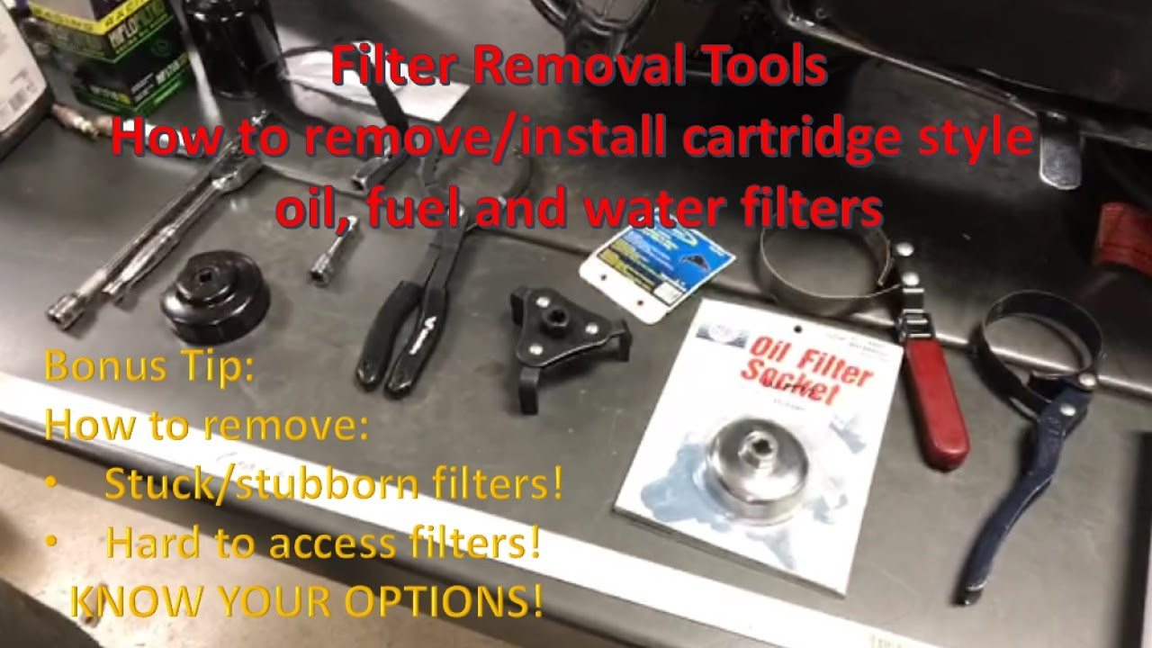 Stuck Stubborn And Always Right >> Tips For Oil Filter Removal And Installation How To Remove A Stuck