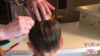 How to (Ballerina Hairstyle) ASMR