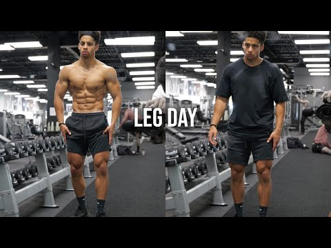 INTENSE LEG WORKOUT [Training to Grow the Right Areas]
