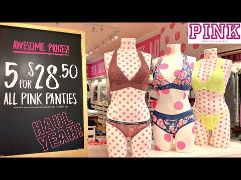 VICTORIA'S SECRET *PINK* SEMI ANNUAL SALE🔥UNDER $10 DEALS🔥CLEARANCE BRAS, CLOTHES + MAKEUP
