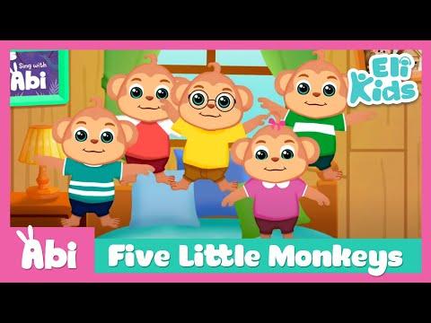 five-little-monkeys-|-eli-kids-song-&-nursery-rhymes
