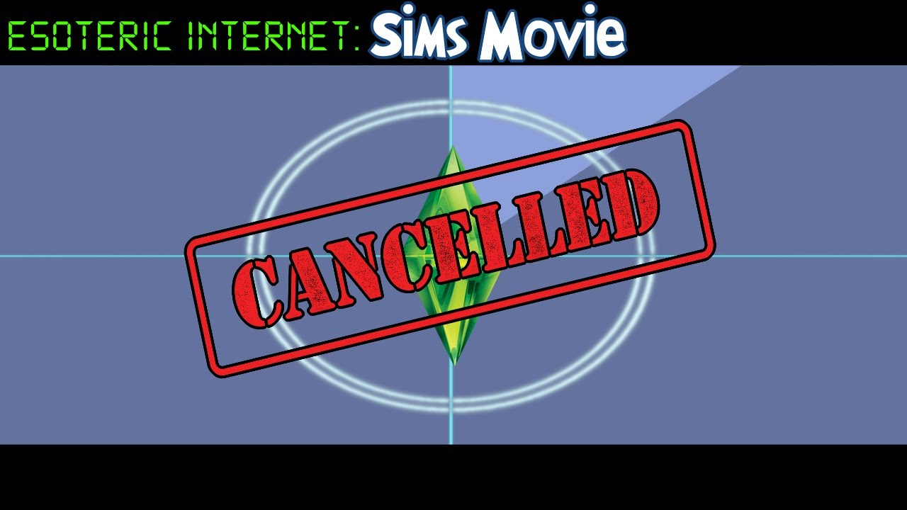 Cancelled Sims Movie, A Lost Oddity | Esoteric Internet