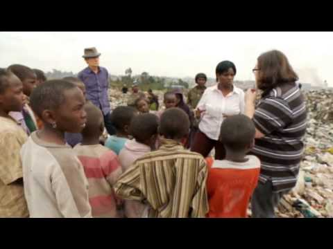Flying Start - Bill Nighy and Nick Frost Visit Comic Relief projects in Nairobi (2010)