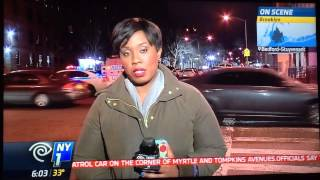 Two police officer killed at Myrtle Ave in Brooklyn ny