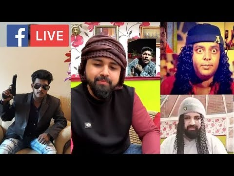 THE #bigman SHOW | Ami Shiplo Khan  and Junior Manna✌ Facebook Live Dipjol and Manna