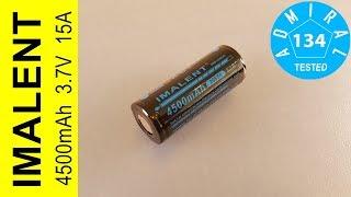 Тест аккумулятора Imalent MRB266P45 4500mAh 15A